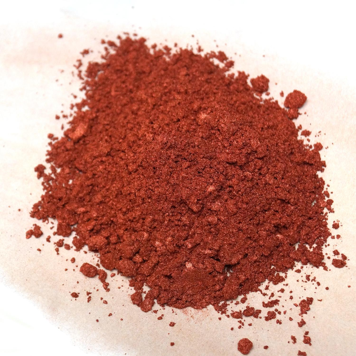 Copper Mica Powder 1 Oz Delphi Glass