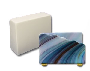 Business card napkin holder mold decor delphi glass reheart Gallery