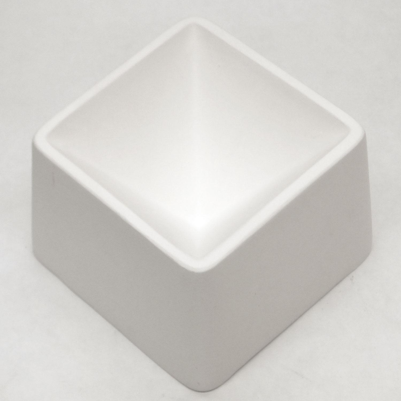Delphi Studio Pyramid Paper Weight Mold Glass Casting