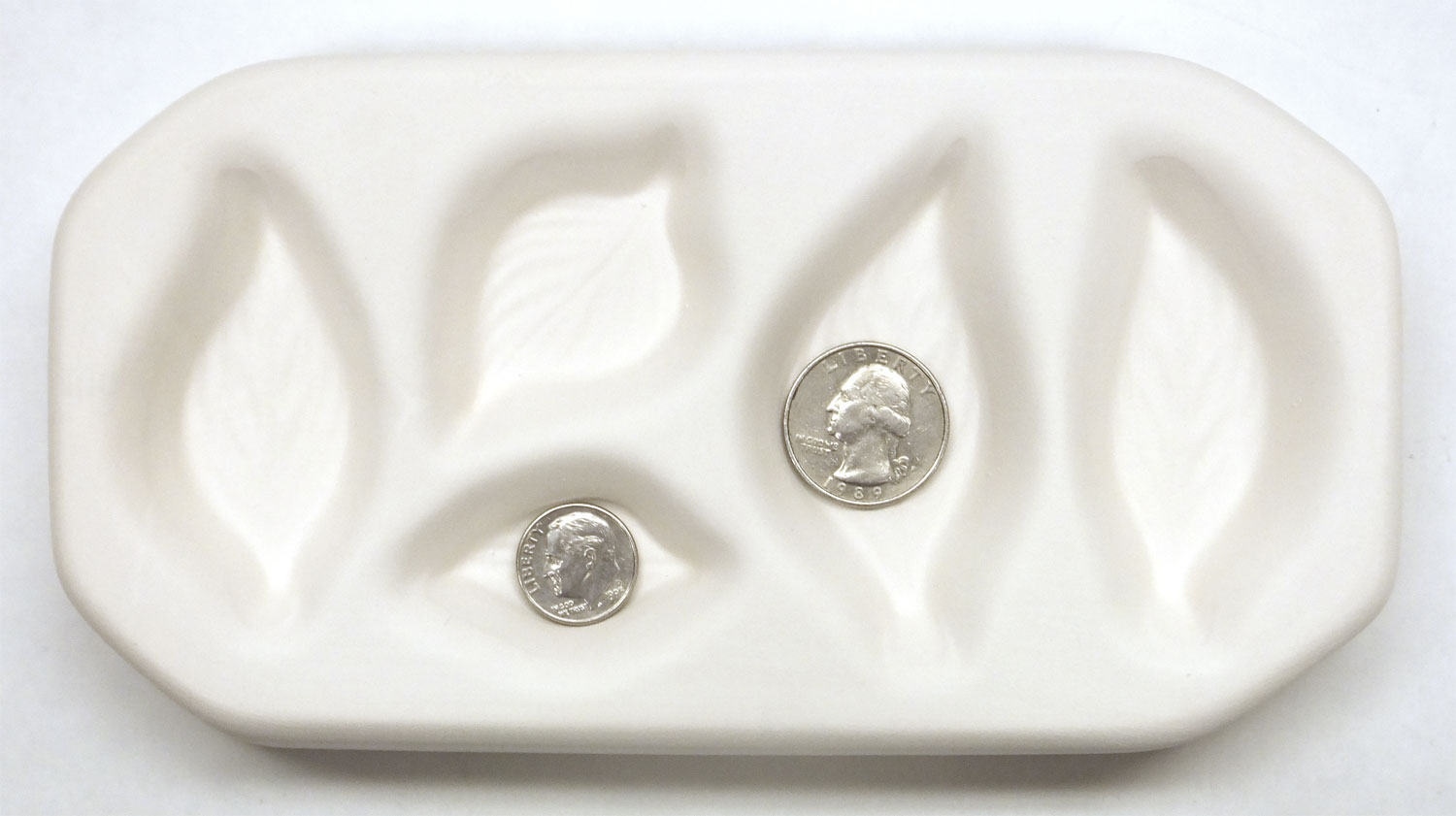 Small Leaf Assortment Casting And Slumping Mold Glass