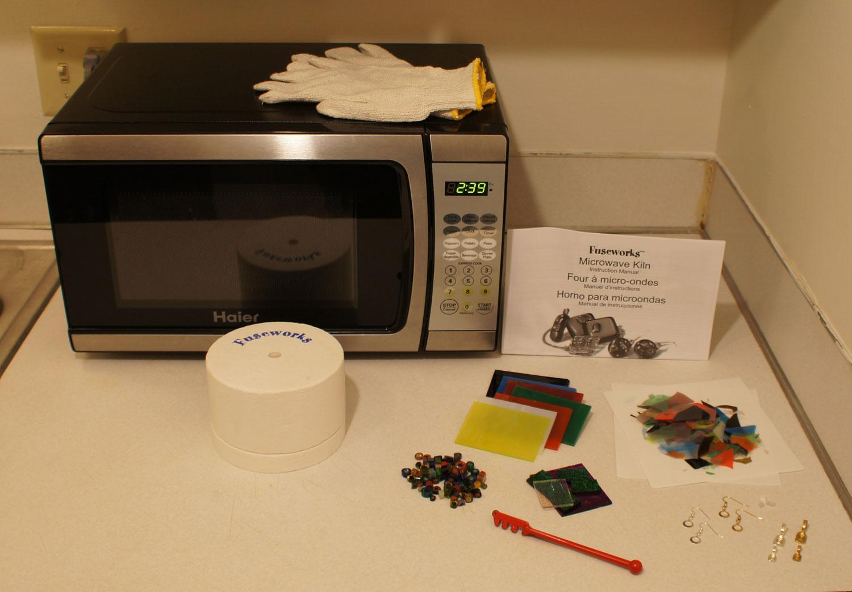 Fuseworks Microwave Kiln Small Diamond Tech Small