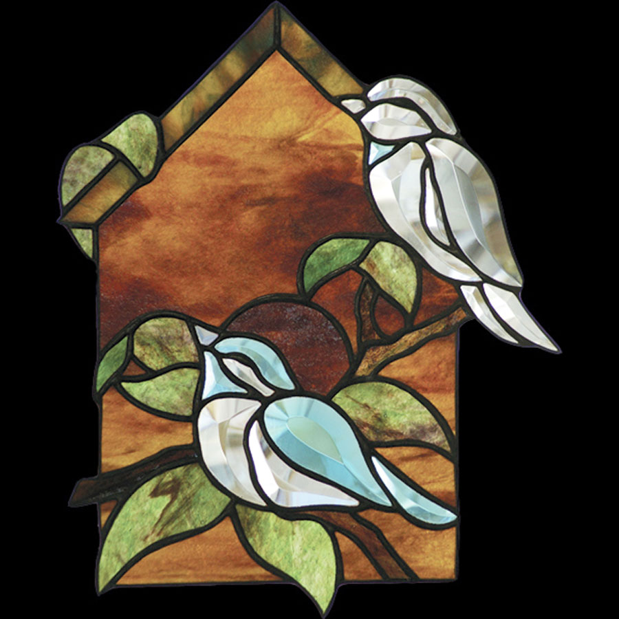 Free Birdhouse Bevel Pattern Faces Left