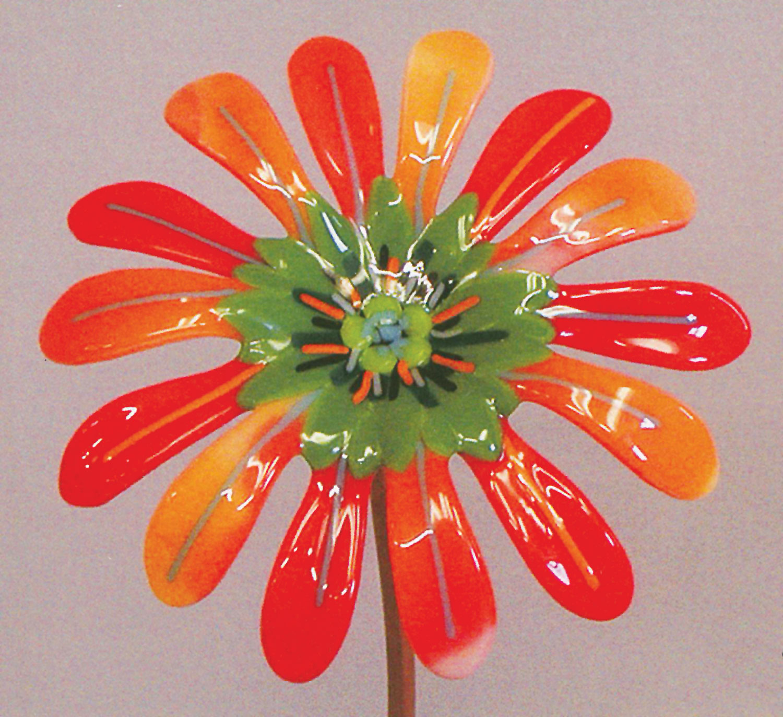 Fused Glass Flowers Fusing Books Creative Paradise