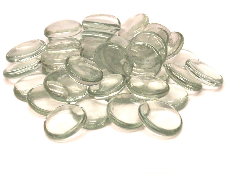 Clear Glass Gems Pebbles Delphi Pebbles