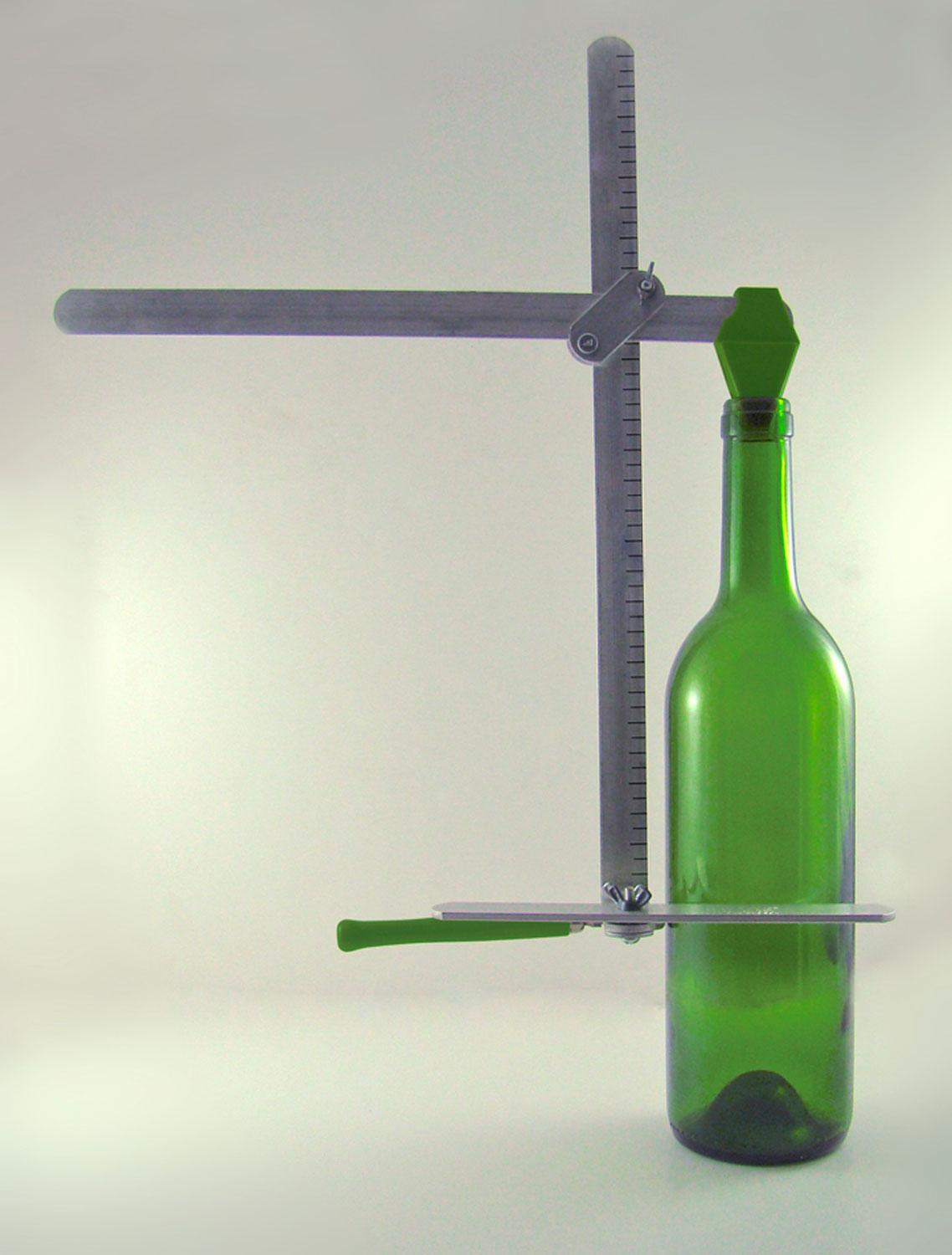 Generation green g2 bottle cutter tools supplies for How to use a glass cutter on a bottle