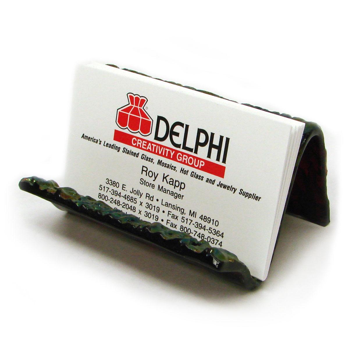 Business card holder decor molds delphi glass decor molds business card holder colourmoves