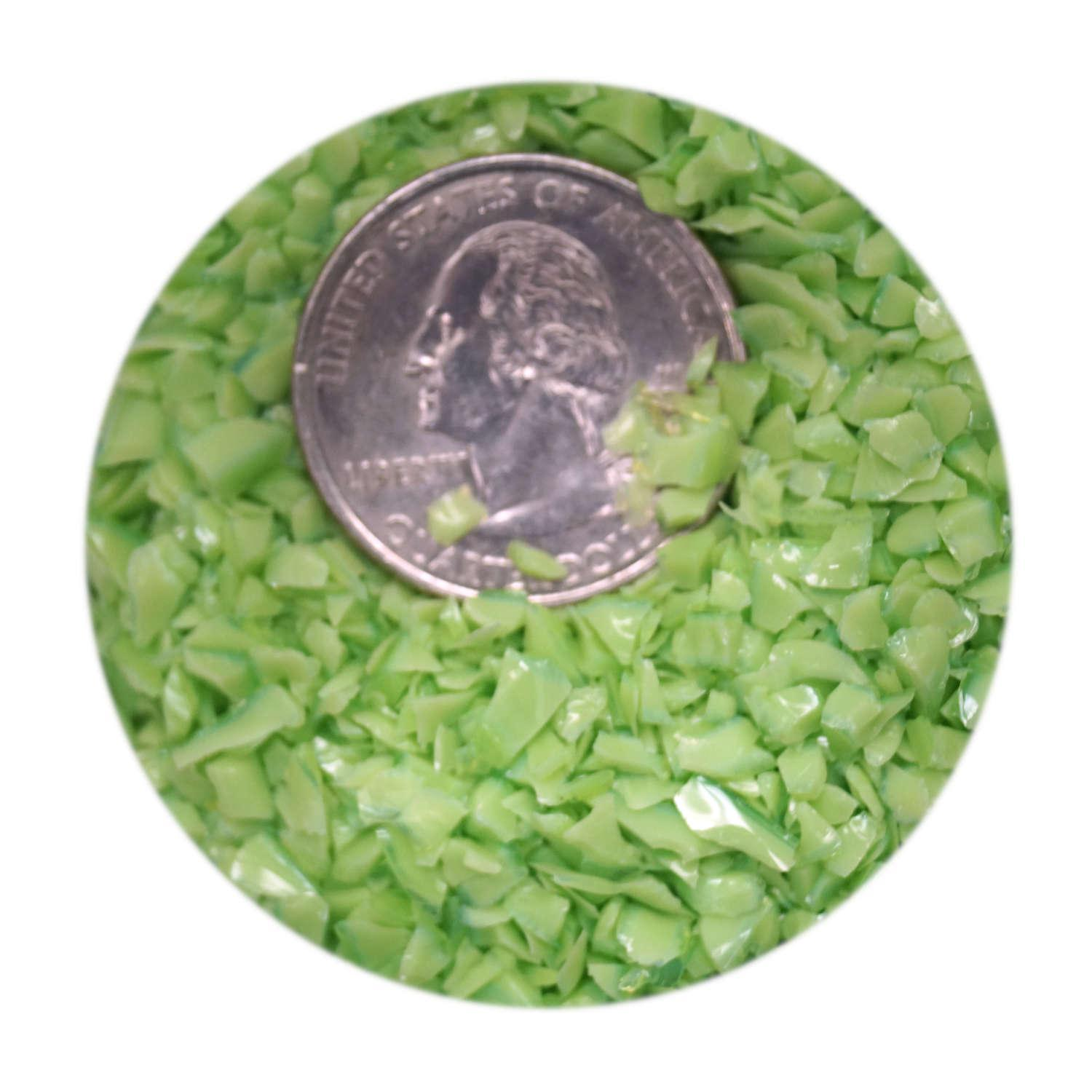 New Larger 8oz Size White Opalescent Fusible Glass Coarse Frit 90COE Made from Bullseye Glass