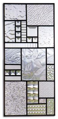 Clear Texture Architectural Glass Pack Stained Sheets
