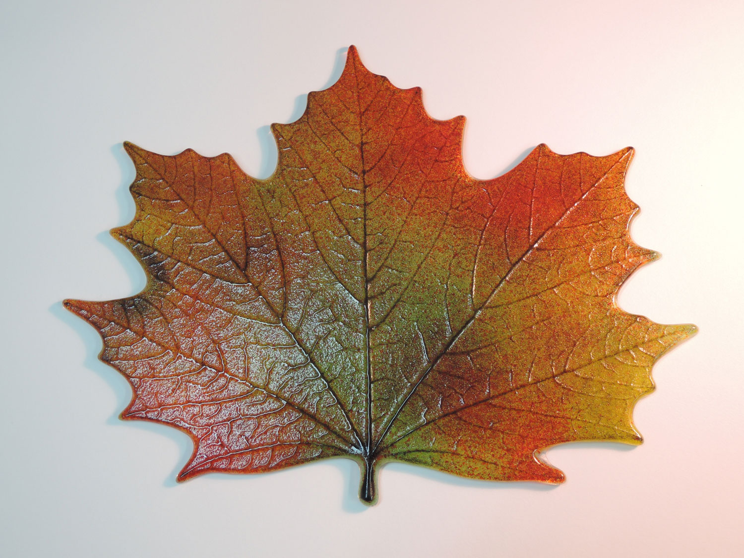 Northwoods Maple Leaf Casting Mold Glass