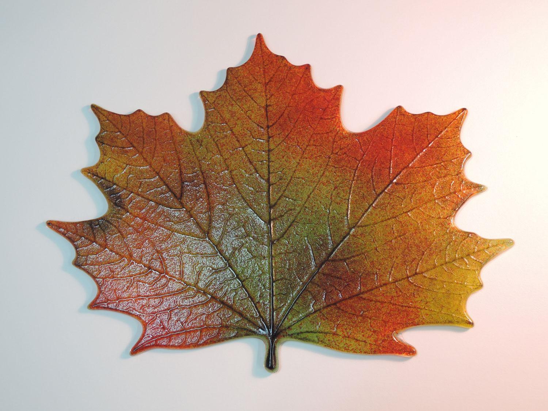 Northwoods Maple Leaf Casting Mold Glass