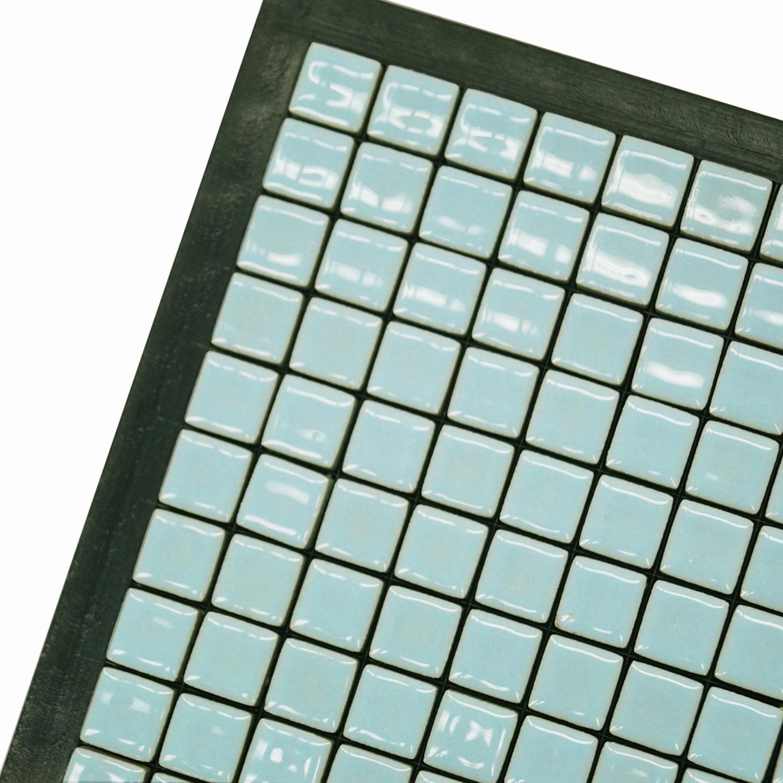 38 Light Gray Ceramic Tile 1 Lb Stone Delphi Glass