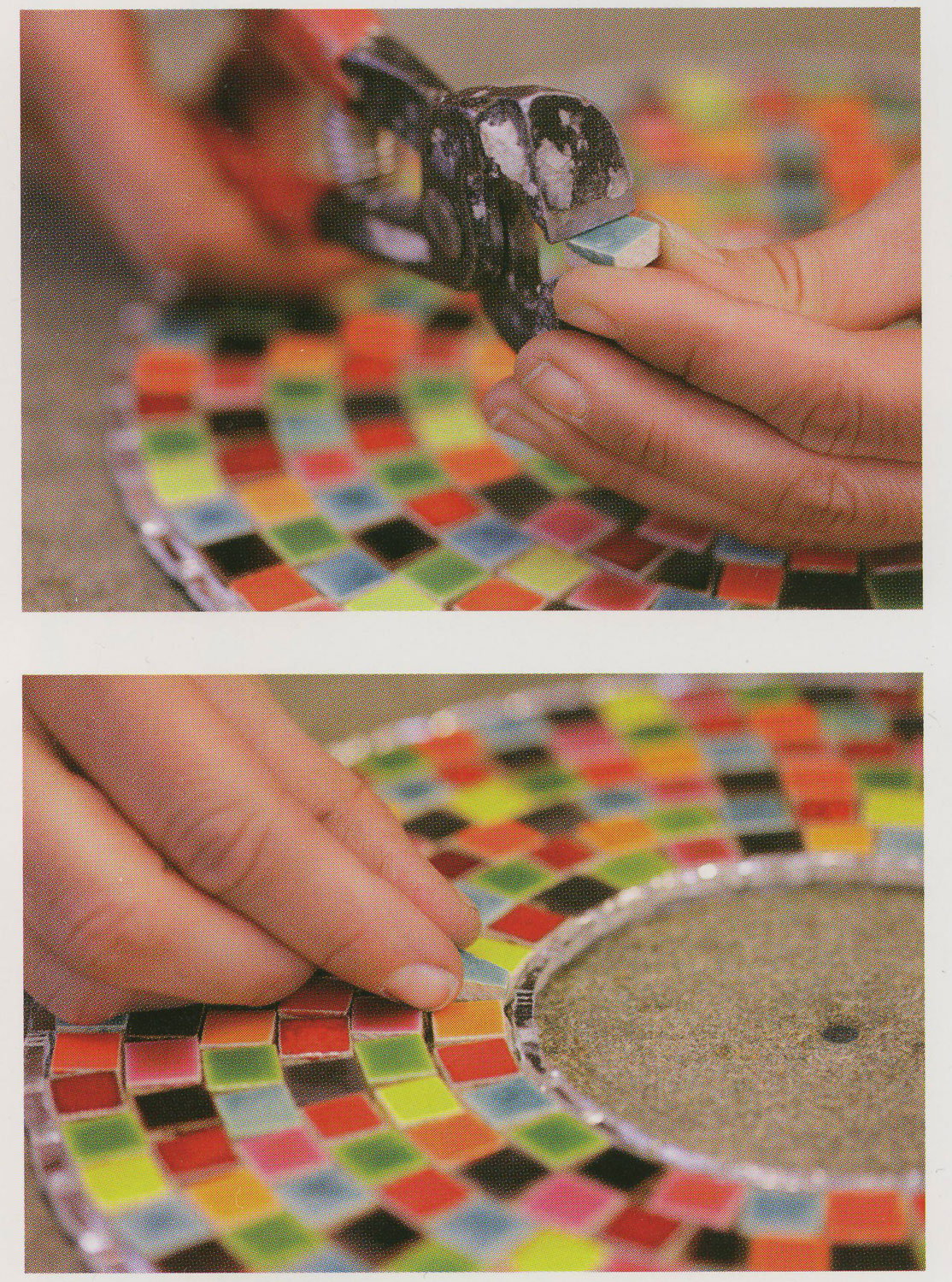 A Beginner S Guide To Mosaics Four Decorative Projects Books Dvds Delphi Glass