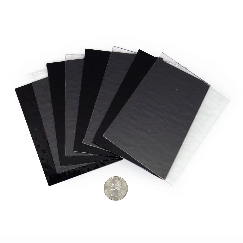 Wissmach Essentials Clear and Black Glass Pack 96 Coe