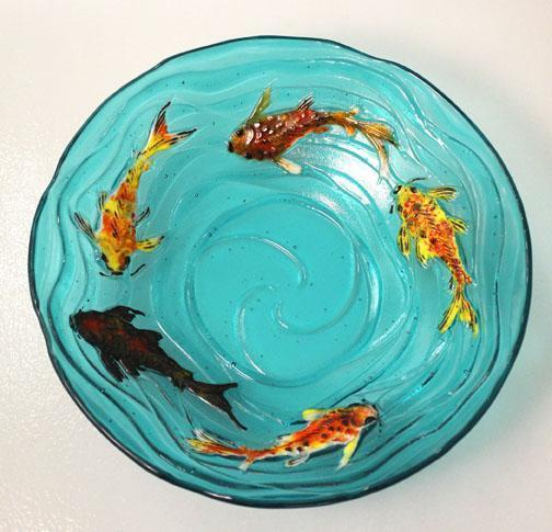 Fused Glass Fish Patterns