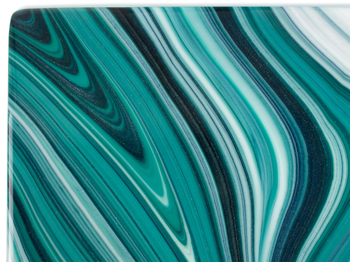 Stained Glass Sheet Aventurine Blue COE 96 Spectrum Mosaic