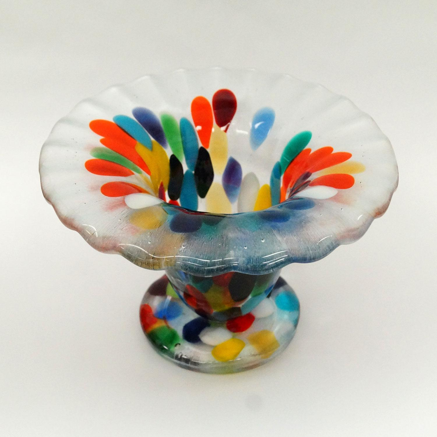 Free get the look of blown glass in fused art project for Projects with glass