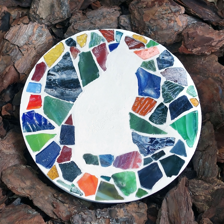 Mosaics Mosaic Stepping Stone Kit Furry Friends Toys & Games vespa ...