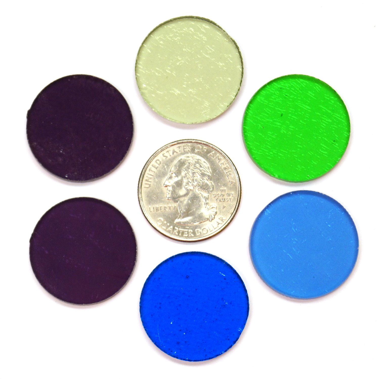Colors: Fuseworks Cool Colors Circles 6 Piece Assortment