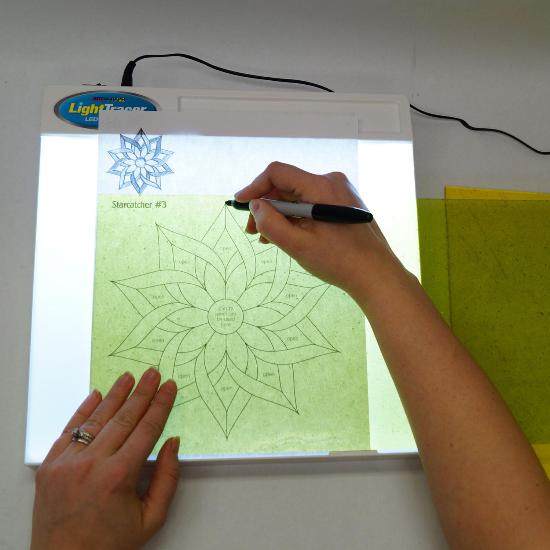 Lighttracer Led Light Box Pattern Making Supplies Delphi Glass