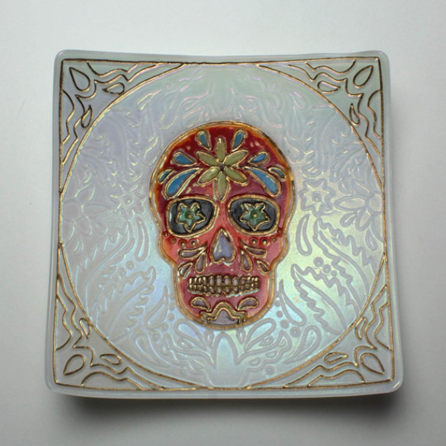 Day of the dead texture mold delphi glass 2278165 thumbnail image dailygadgetfo Choice Image